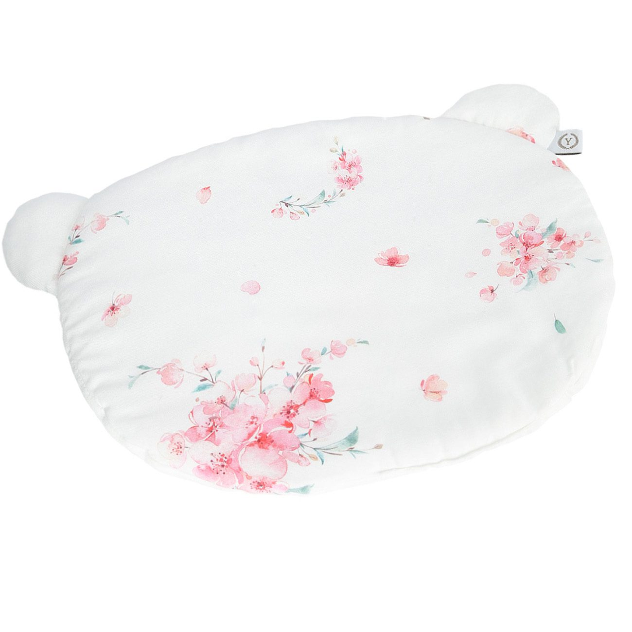 PODUSZKA BAMBUSOWA Z USZAMI - BAMBOO PILLOW WITH EARS JAPANESE FLOWERS YOSOY