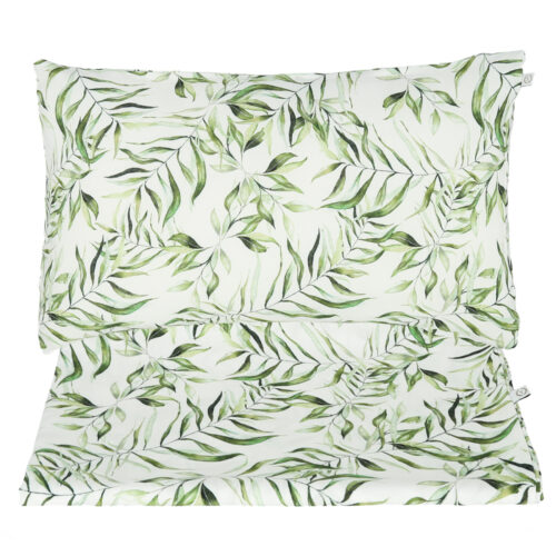 KOMPLET POSZEWEK NA POŚCIEL - SET OF BEDDING COVERS EXOTIC LEAVES YOSOY