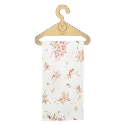 OTULACZ BAMBUSOWY - BAMBOO SWADDLE BLANKET SEPTEMBER FLOWERS YOSOY